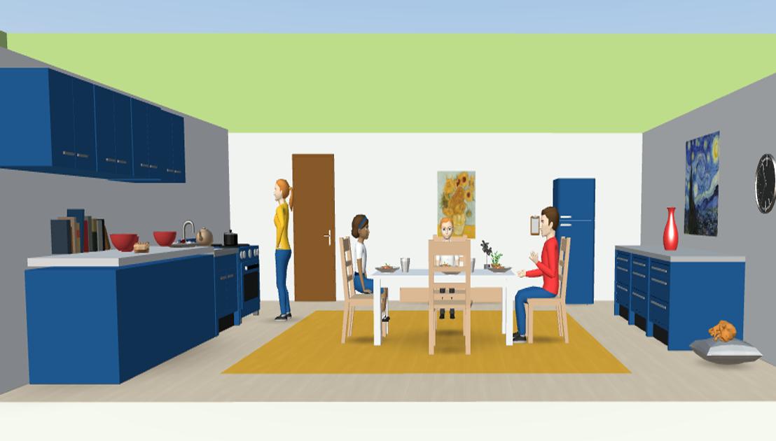 Utilizzo della Realtà Virtuale non immersiva  nell'intervento con lo psicodramma individuale adistanza
